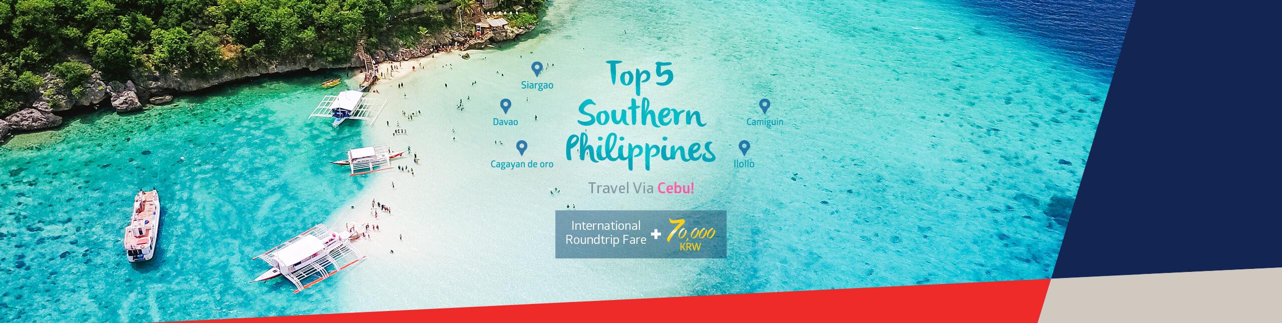 Travel via Cebu